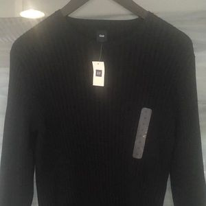 Men's Gap M 100% cotton crew neck ribbed sweater